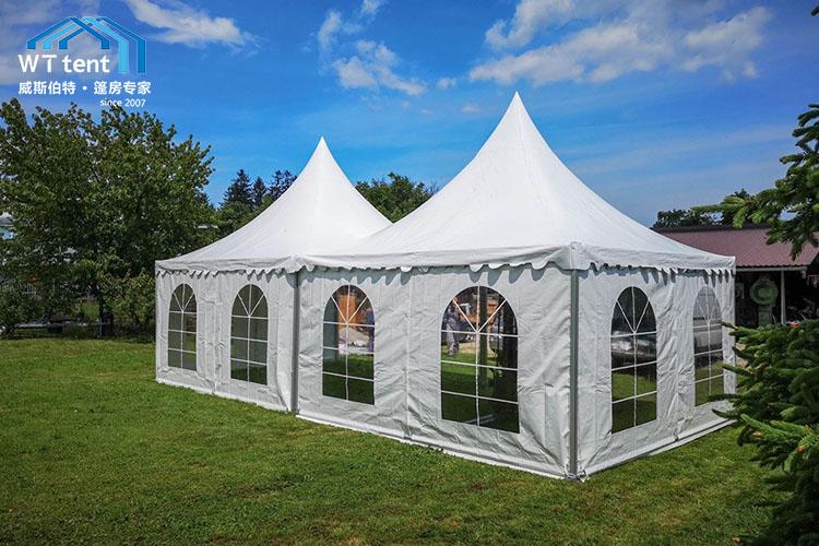 苏州威斯伯特锥形尖顶活动篷房帐篷厂家定制帐篷