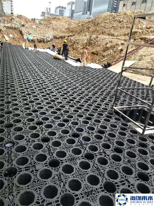 廣州_科技園雨水收集利用系統模塊水池項目工程