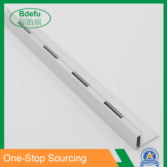 Single Slot Aluminum Strip Wall Upright