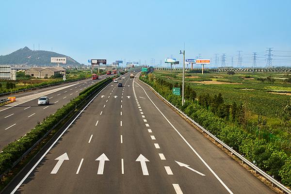 杭州湾南接线路面