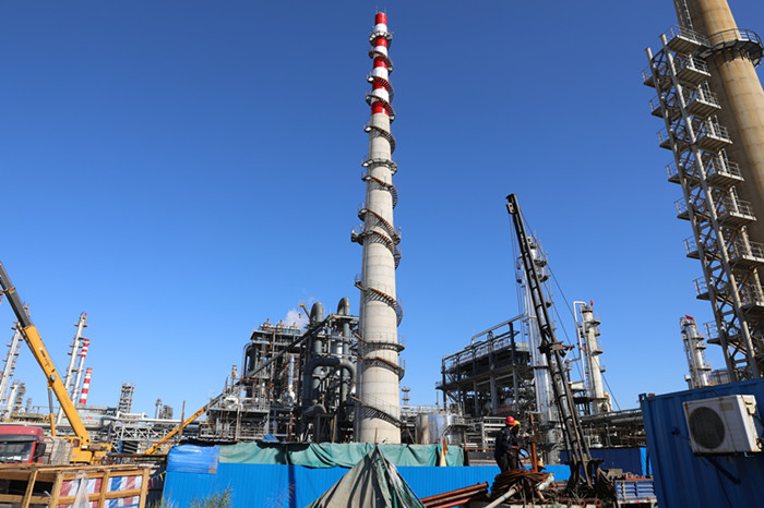 50 thousand tons / year sulfur plant entered the start-up phase