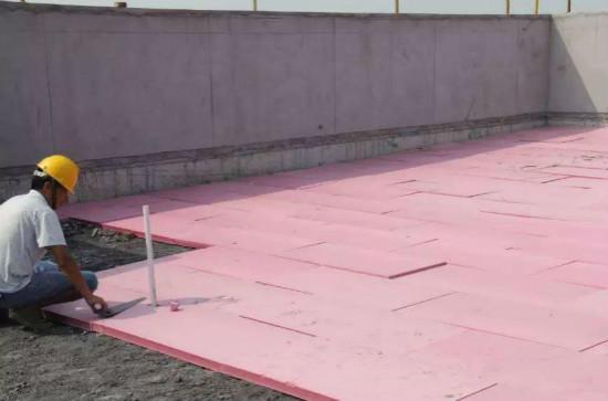 屋顶保温施工