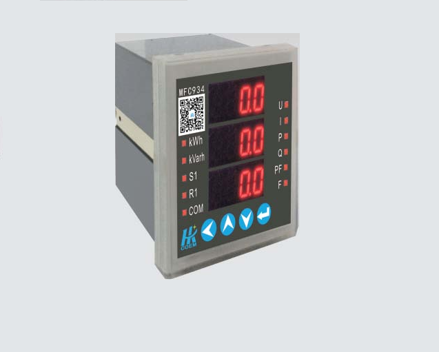 MFC934系列可編程电力仪表型号列表