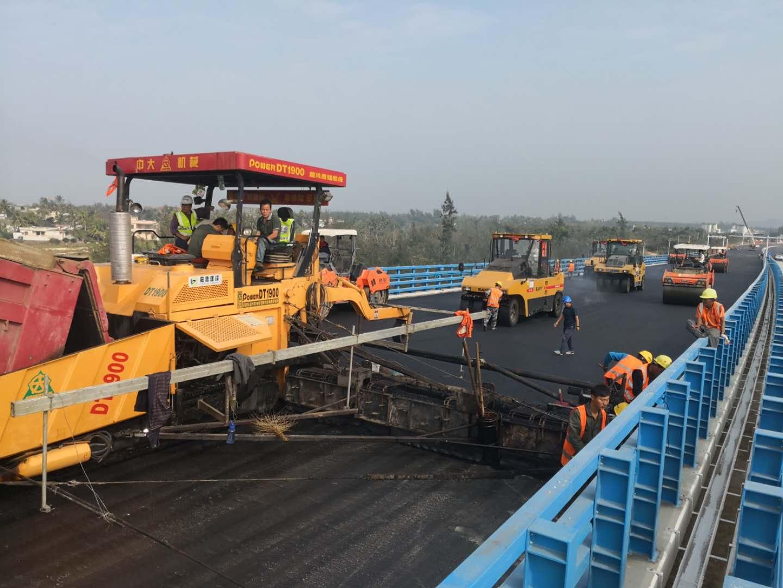 海口市重点项目——海南省海口市铺前大桥沥青路面工程