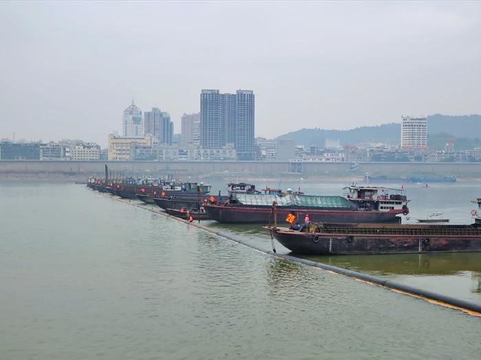 梧州塘源水廠過江管工程