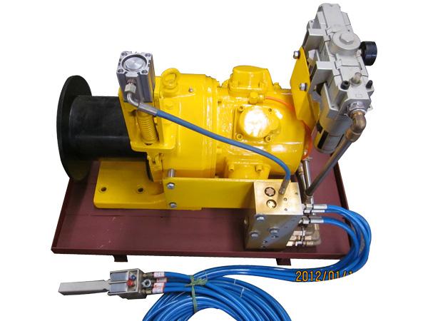 JQH-5×48QB型氣動絞車(帶集成模塊)