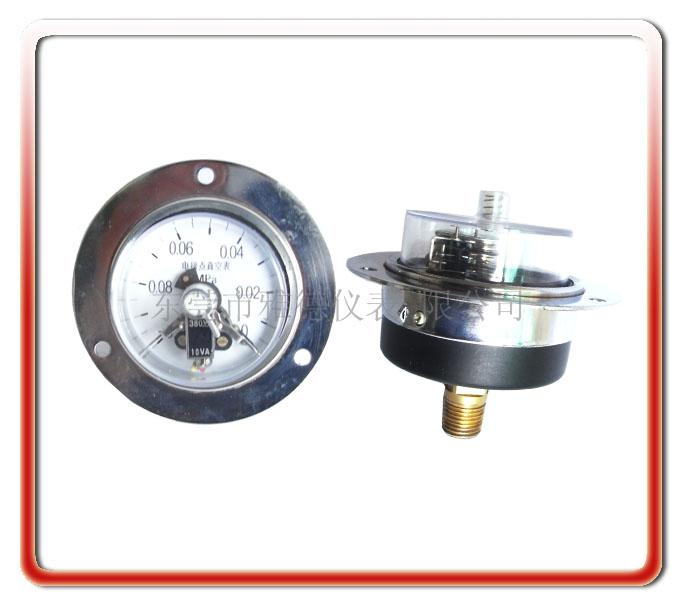 60MM軸向電接點壓力表