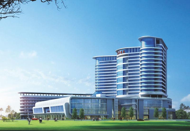 深圳海滨医院钢结构