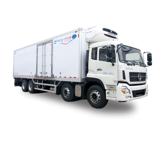 Large size refrigerated truck