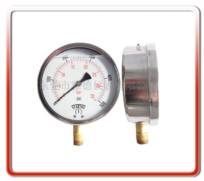 150MM徑向耐震油壓表