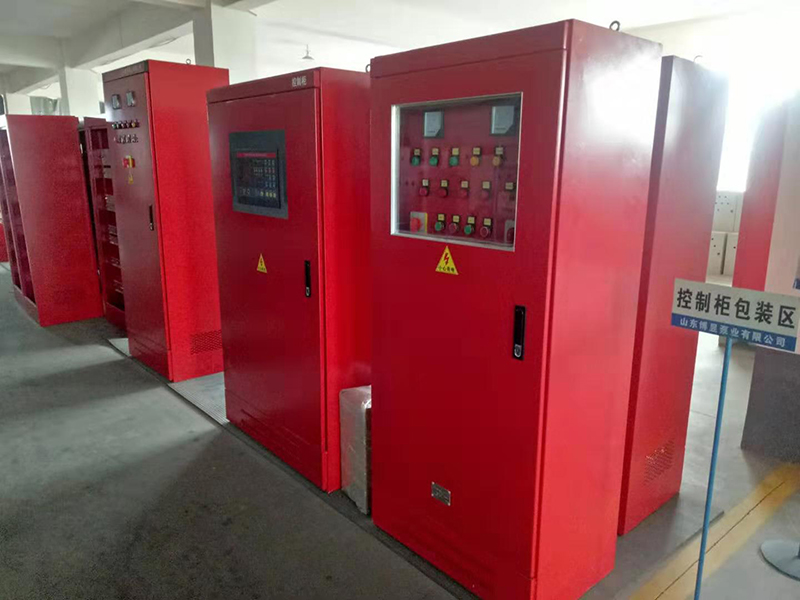 山東博昱牌XF-XJ消防自動巡檢控制柜 CCCF認證產品 流向標簽 批量供應
