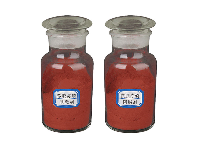Microencapsulated red phosphorus flame retardant