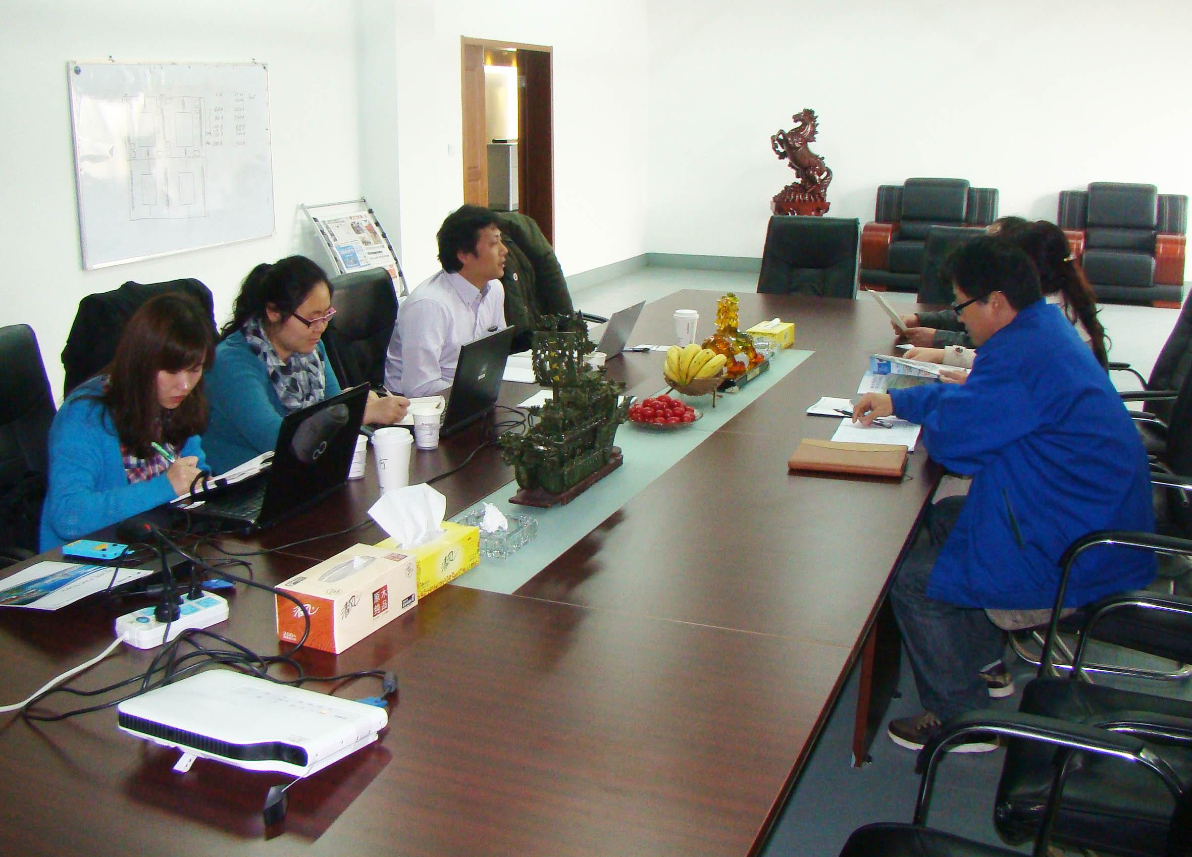 2013年4月23日富士電機領導蒞臨我司洽談合作事宜