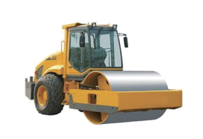 Construction machinery industry - road roller