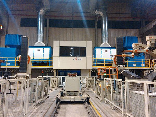 卡特彼勒(徐州)有限公司—机器人焊接除尘