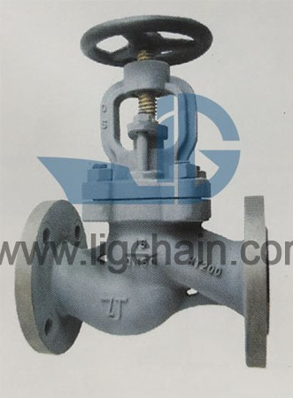 GBT 591 Marine Cast Iron Flanged Stop Check Valves
