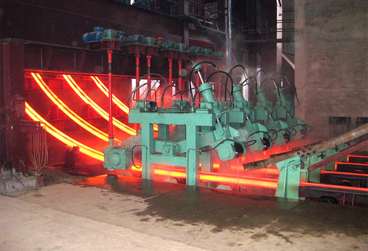 R6米 - 4機4流 弧形連鑄機
