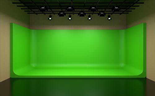 演播室藍箱