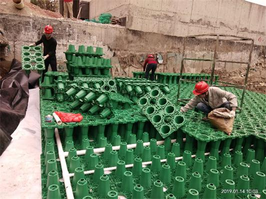 廣州_南沙工業區雨水收集利用系統模塊水池項目工程