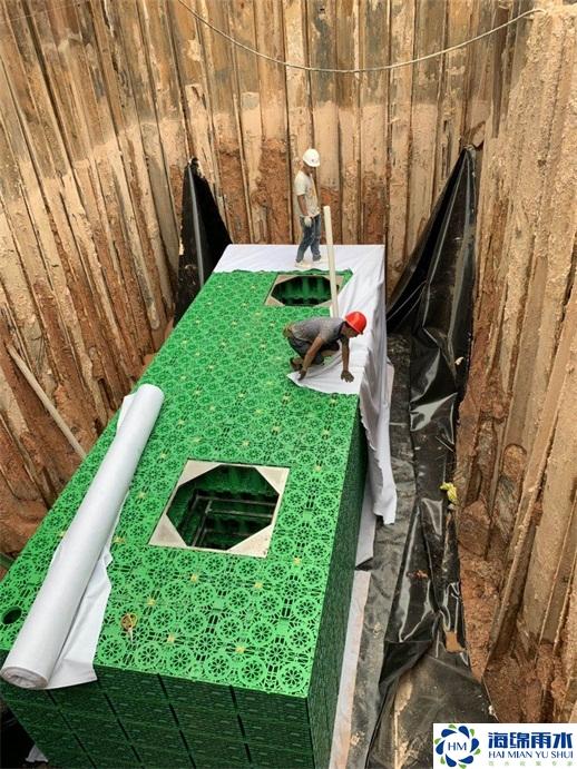 珠海_紅荔社區雨水收集利用系統模塊水池項目工程
