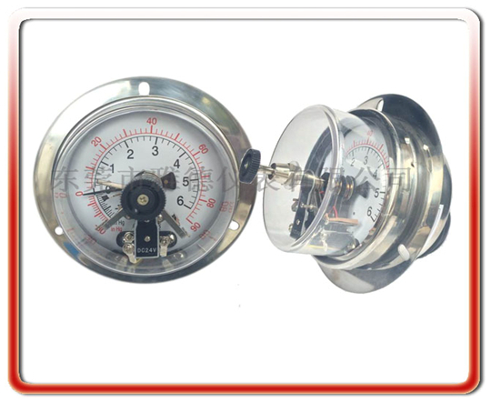 -1+6全鋼電接點壓力表