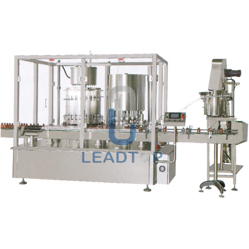LYXG Series Rotary Filling Capping Machine