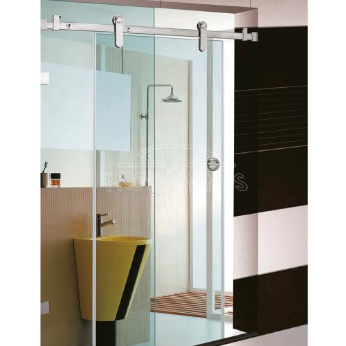 Shower room sliding door set