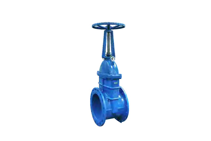 Open rod soft sealing gate valve Z41X-10Q/16Q/25Q