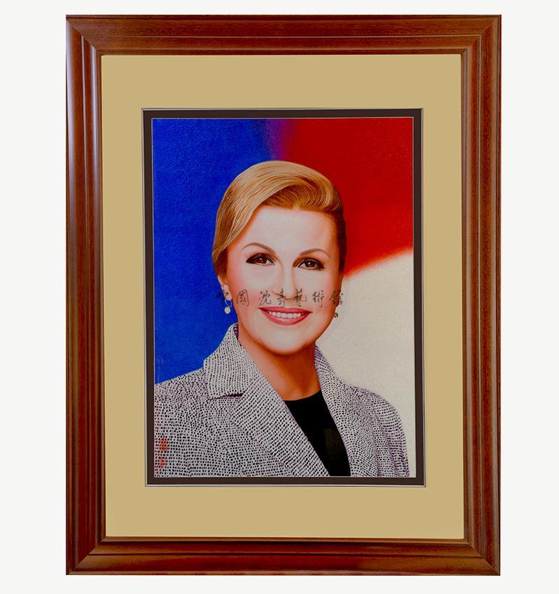 《克羅地亞總統肖像》