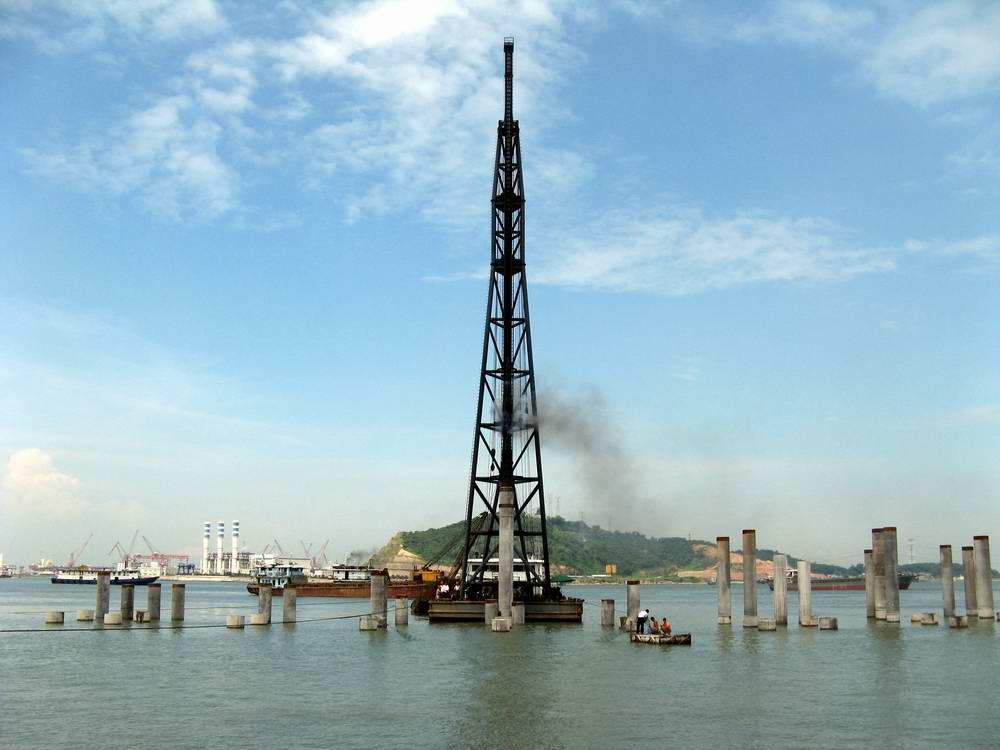 深圳港西部政府码头工程