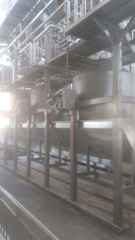 自動泡糧蒸糧系統