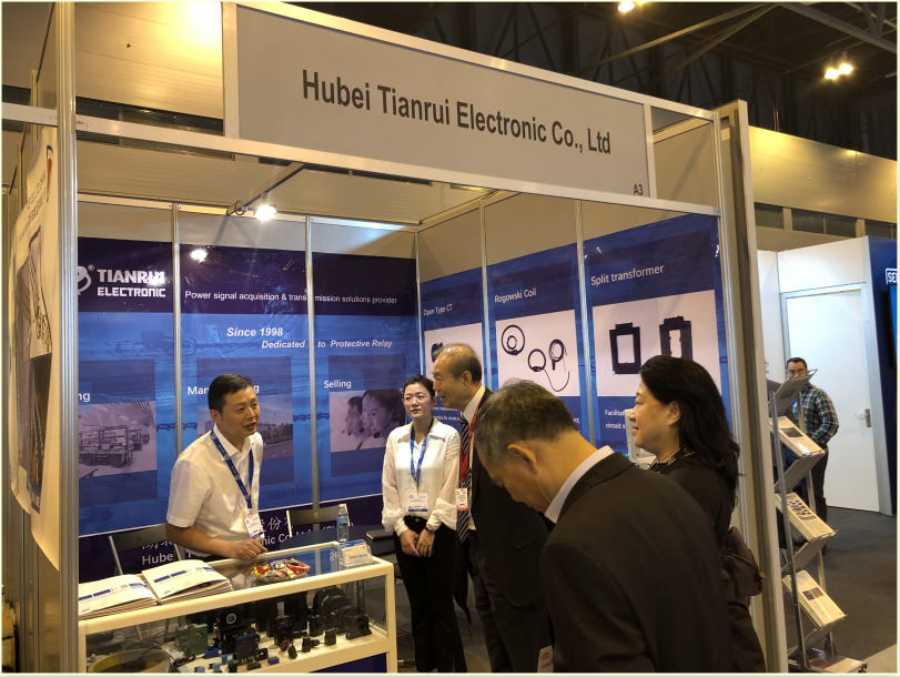 Tianrui Electronics successfully participated in the 2019 Madrid CIRED Technical Exhibition in Spain