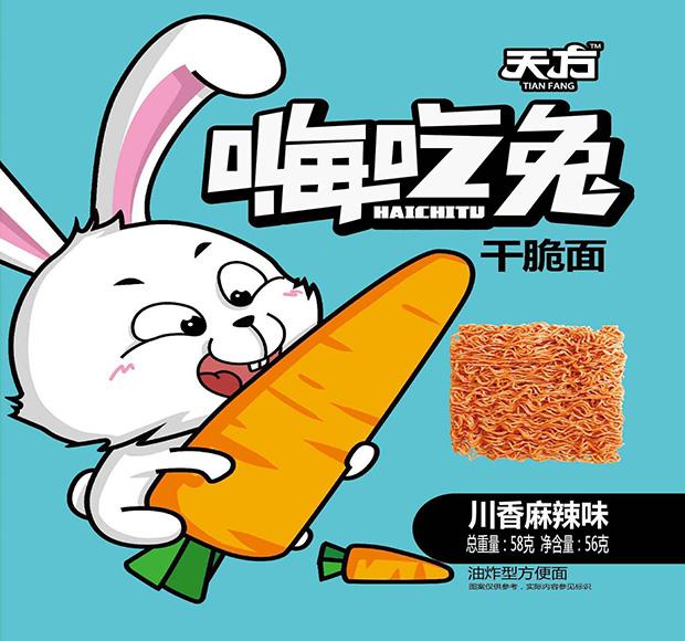 嗨吃兔川香麻辣味