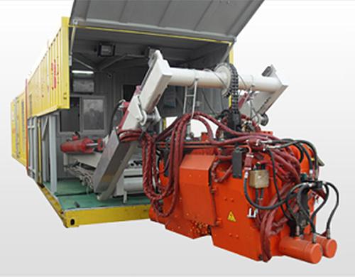 YGH-1200TH型移動式鋼軌閃光焊機