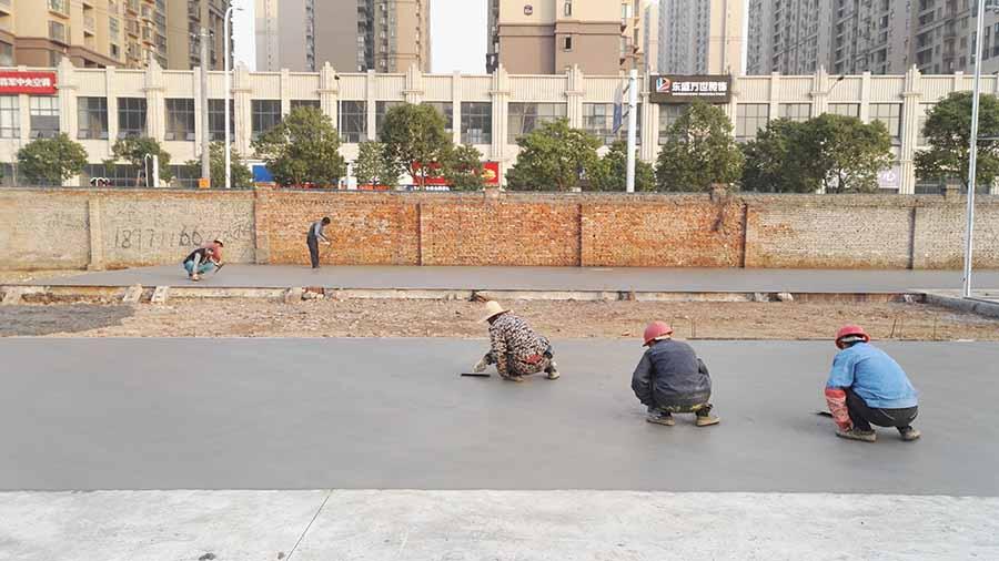 【市政機施】南湖連通渠災后修復工程開始項目部搭設
