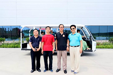 Anqiu famous writers went to Lusheng Group to visit the collection