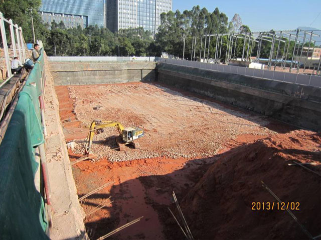 Foundation Engineering of SD Information Building