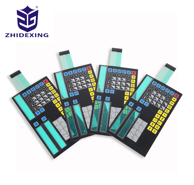 Industrial control electrical membrane switch