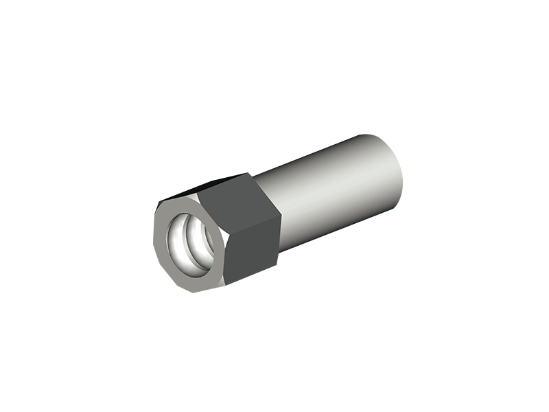 Steel Nut L=100 SW36 for GRP25