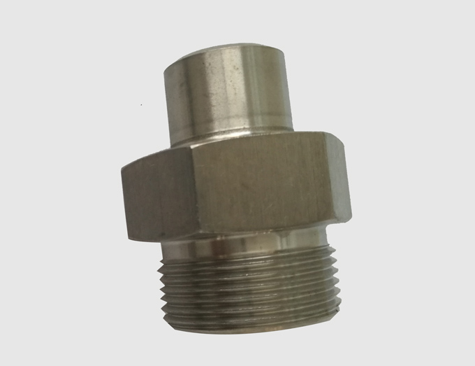 Cone seal welded pipe joint