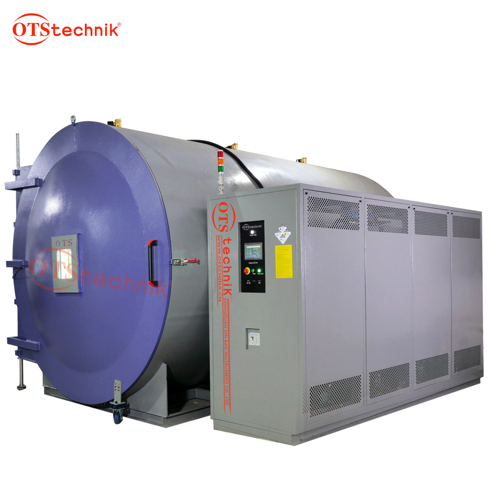 Large temperature and humidity low pressure testing machine
