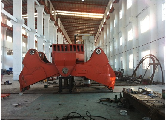Heavy dredging grab parts