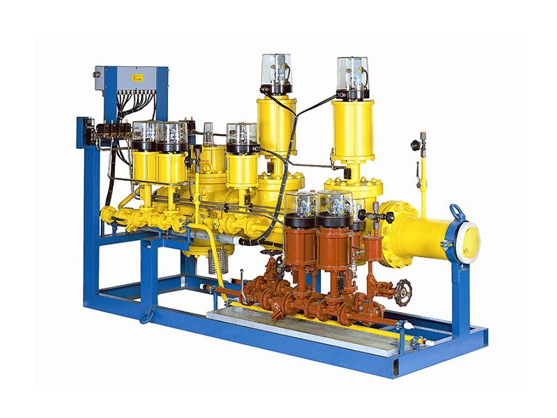 锅炉燃烧器燃油、燃气控制阀门站