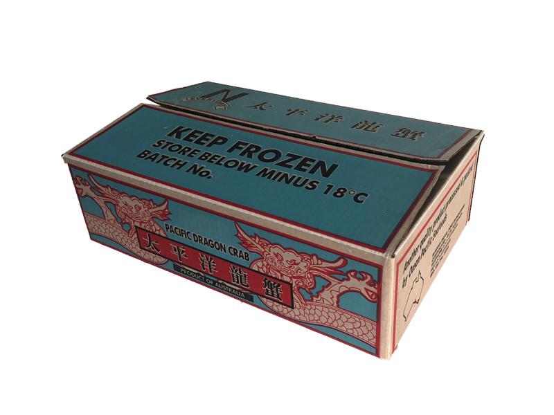 龙虾浸蜡纸箱