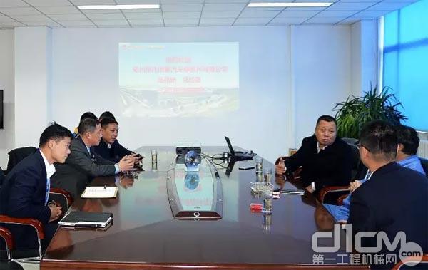 事達同泰董事長陸建新來訪太原太鋼大明