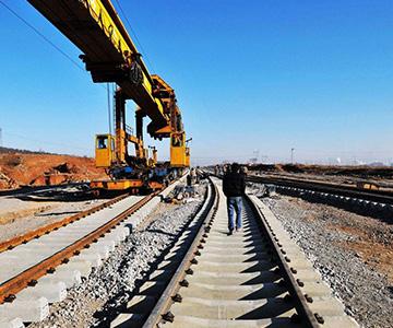 铁路网施工