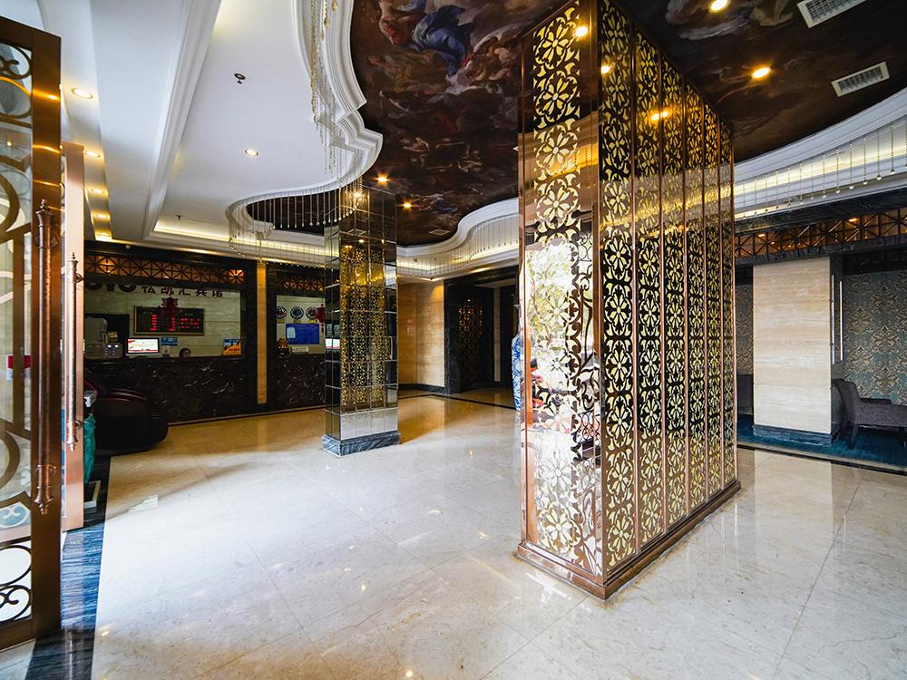松凱匯賓館室內裝修工程