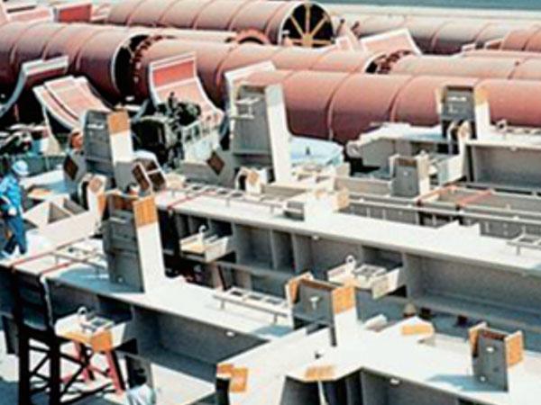 日本橘灣電廠1050MW鋼結構