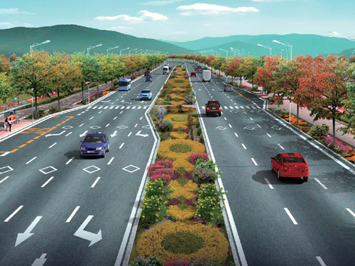 河南郑州新安西路改建(物流通道)工程