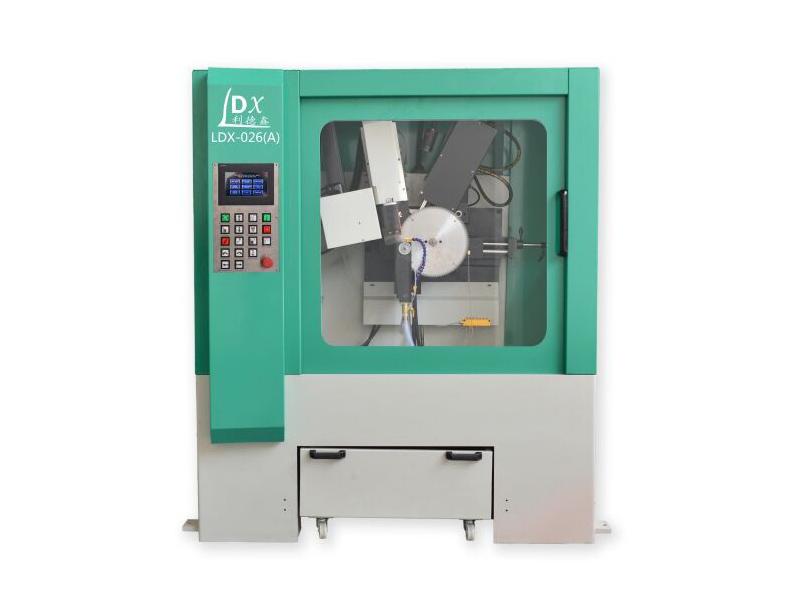 LDX-026(A)伺服擺角全數控圓鋸片前后角磨齒機